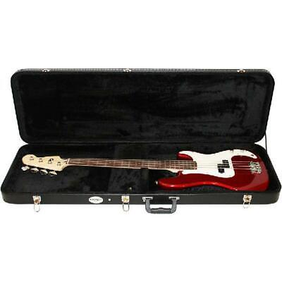 Electric Bass Guitar Hard Case Heavy Duty Neck And Bridge Padding Guitar Storage