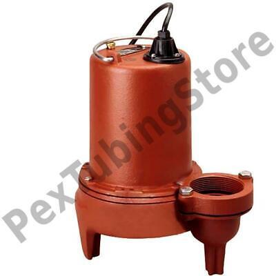Manual Sewage Pump 10 Cord 1 Hp 2 Discharge 208230v
