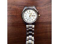 Seiko Kinetic watch.
