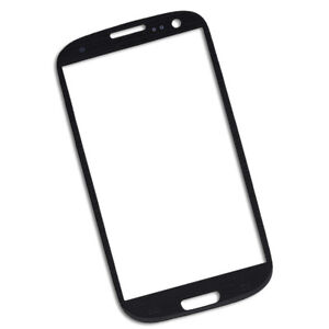 New-Front-Outer-Screen-Glass-Lens-Replace-For-Samsung-Galaxy-S3-3-i9300-Black