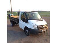 Ford transit tipper 61plate no vat £7900