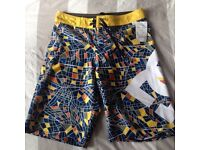 Boys DC swim shorts