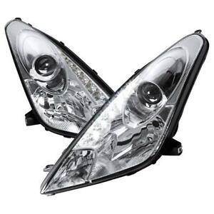 2000-2005 TOYOTA CELICA Projector Headlight Chrome With Led Drl