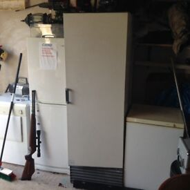 Carvell upright freezer for parts or easy repair