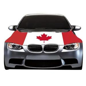 CANADA DAY 151 YEARS  - CAR HOOD FLAG - CANADA FLAGS FOR SALE