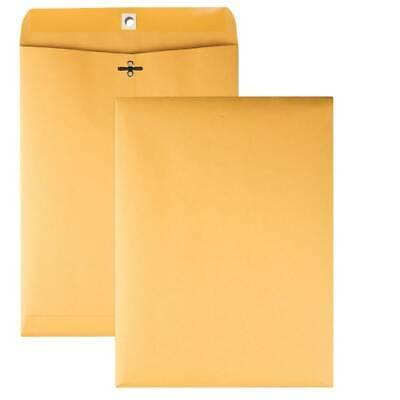 Clasp Envelopes Gummed 28lb 9x12 100bx Kraft