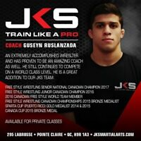 Private/small group wrestling classes