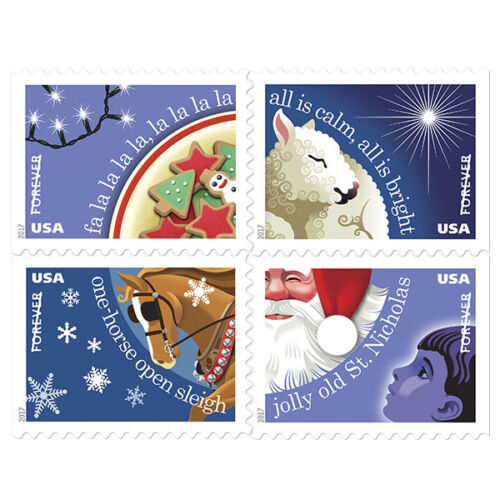 Купить USPS New Christmas Carol Booklet of 20