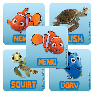 25 Disney Finding Nemo Stickers Party Favors Teacher Supply Crush Dory Squirt