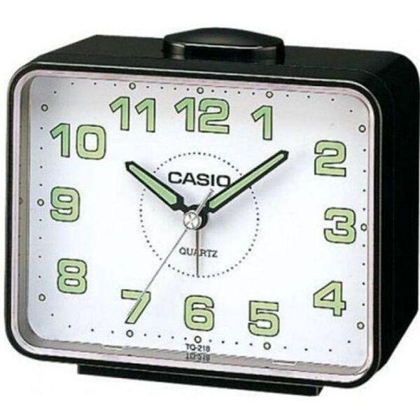 Casio TQ218-1B Table Top Travel Alarm Clock