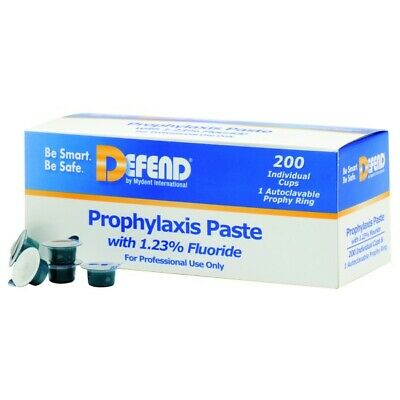 Mydent Pp1400 Defend Prophy Paste Cups With Fluoride Medium Assorted 200bx