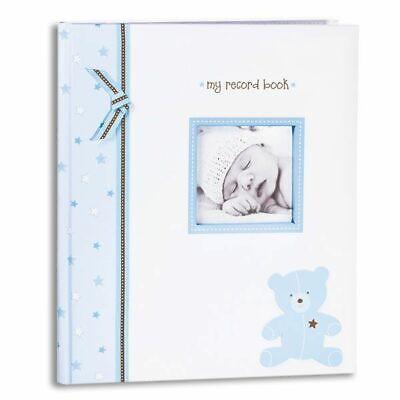 2011 NEW Lil Peach Pearhead Baby Boy Record Album Book  First 5 Years -Blue Bear