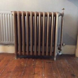 2 Antique Cast Iron radiators from a church £200 each