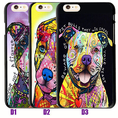 Pitbull Quotes Lover Nota Fighter Soft Tpu Case Cover For Iphone 7 6S 6 8 Plus X