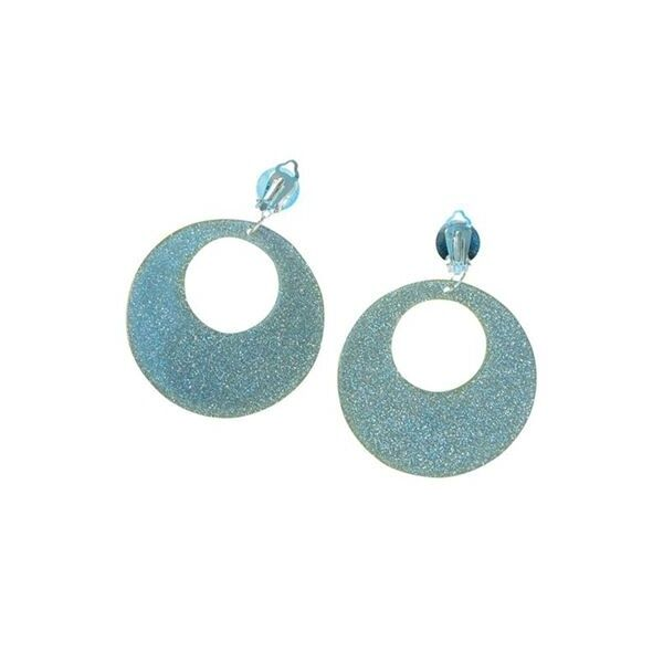 Hippy Earrings (Silver Spangle) - Accessory