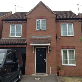 4 bed house available early August