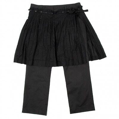 Jean Paul GAULTIER pleated wrap skirt Size 40(K-33322)