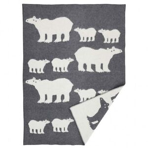 Klippan Blankets throws, baby blankets and tea towels Sweden