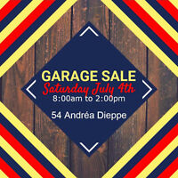 GARAGE SALE at 54 Andréa Dieppe