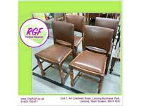 SALE NOW ON!! Set Of 4 Chairs -Can Deliver For £19