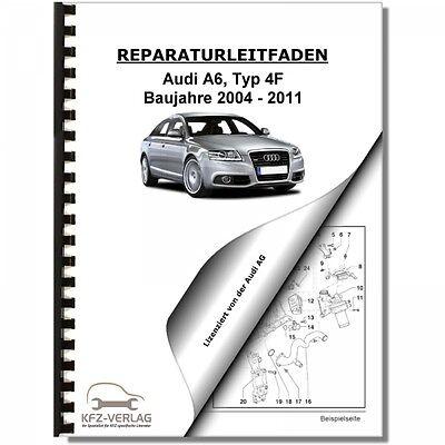 Audi A6, Typ 4F (04-11) Instandhaltung, Inspektion, Wartung - Reparaturanleitung