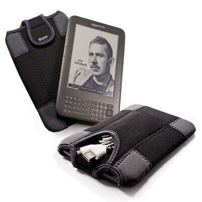 "Neoprene Sleeve for 6"" for ALL Kindle & Kobo Ereader / Ebook - Black, usado segunda mano  Embacar hacia Spain"