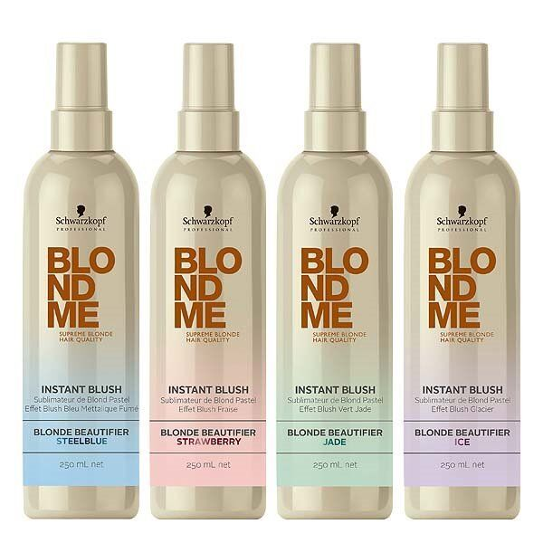 schwarzkopf professional blondme instant blush review call me madie. Black Bedroom Furniture Sets. Home Design Ideas
