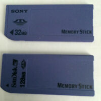 Sony memory sticks.