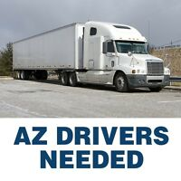 AZ Drivers Needed - Cross border Long haul