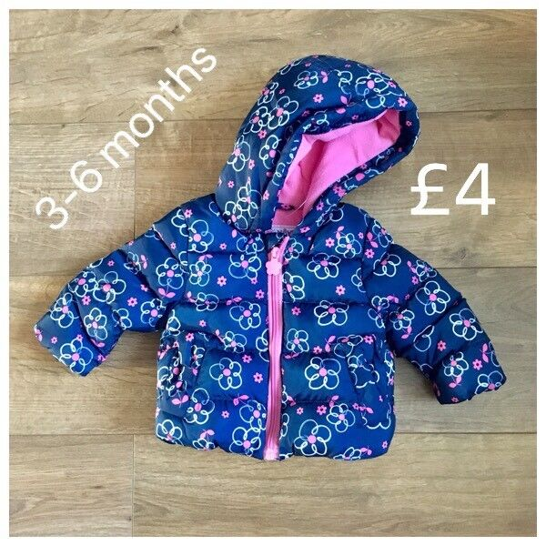 4c35a55bf 3-6 months girls new coat