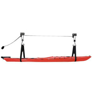 100-lb-Canoe-Kayak-Bike-Lift-Hoist-garage-ladder-hoists-storage-ceiling-utility