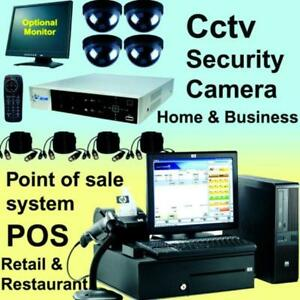 Point of Sale, IP Security Camera, POS, Door Access Control