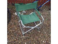 Aluminium camping/ fishing chair