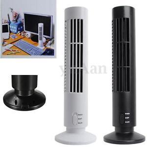 portable usb mini ventilateur climatiseur colonne tour sans h lice cooling fan ebay. Black Bedroom Furniture Sets. Home Design Ideas