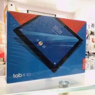 BRAND NEW SEALED LENOVO TAB 4 10 WIFI 16GB 2GB BLACK TAX INVOICE