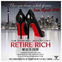 Wealth & Health Event Exclusive to Women!!!