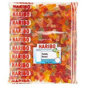 3kg Haribo Teddy Bears Goldbears Gummy Fruity Retro Party Sweets Candy