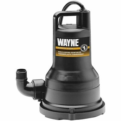 Wayne Vip50 - 43.3 Gpm 1 14 Submersible Non-clogging Vortex Utility Pump