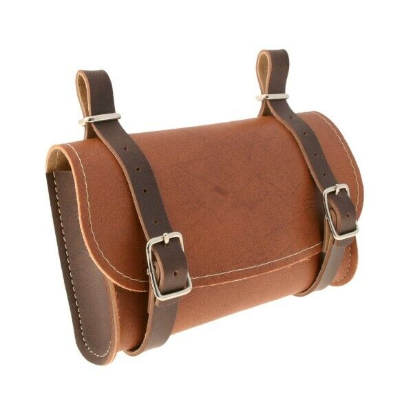 588020917 - Bag Piped IN Faux Leather Honey/Brown For Bicycle