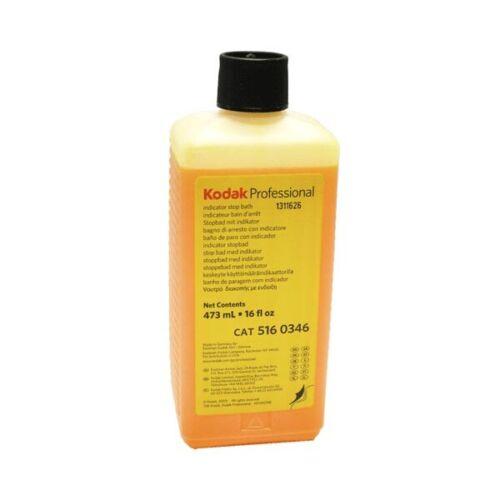 Kodak 5160346 Indicator Stop Bath ,Liquid for Black & White Film & Paper