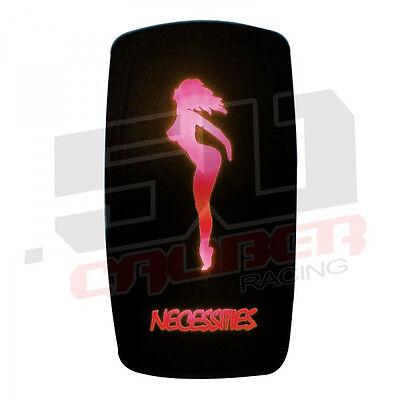 Rock Sexy Stripper (Rocker Switch Sexy Hot Stripper Necessities RV Camp Trailer Motor Home Coach Red)