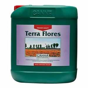 CANNA TERRA FLORES 5L FOR INDOOR SOIL & HYDROPONIC GARDENING