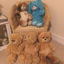 5 build a bears plus 1 wedding outfit