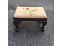 Foot stool - needs some TLC