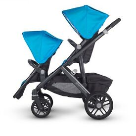 Baby Jogger City Select DOUBLE TANDEM BUGGY great design RRP over £60""