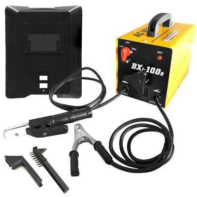 100 Amp Ac Arc Rod Stick Welder 110220v Welding Machine Set