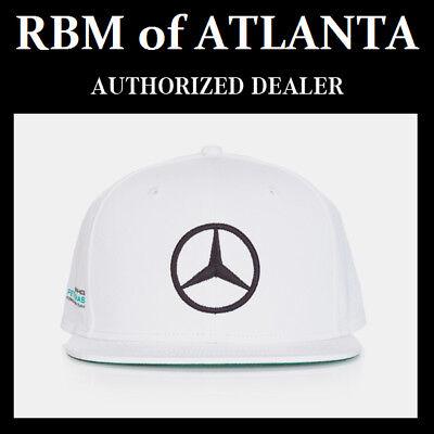 Mercedes Benz F1 Special Edition Lewis Hamilton White Austin USA Grand Prix Hat