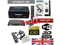 100% GENUINE OPENBOX V8S FULL 36MONTHS GIFT ALL CHANNELS *FREE WIFI ANTENNA* ALL LONDON