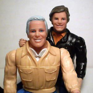 THE A-TEAM ACTION FIGURES TEMPLETON PECK & HANNIBAL SMITH
