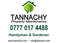 Skilled Gardener / Handyman (Grass Cutting, Gutter Cleaning, Blocked drains, Garden Maintenance etc)